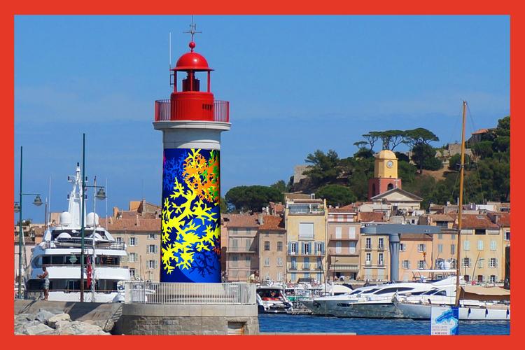 Saint Tropez Couleur Bleu 2021