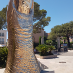 Monumentales Sculptures In Saint-Tropez